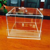 Cheap pmma/plexiglass small clear acrylic boxes with lids for sale