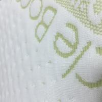 Cheap Soft Bamboo Fiber Air Layer Fabric Jacquard 60% Polyester / 40% Bamboo Fiber for sale