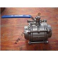 China 3PC BALL VALVE BUTT WELDING END BALL VALVE on sale