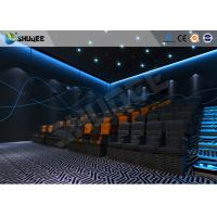 Cheap ISO Certificate 4D Dynamic Cinema Equipment With Pneumatic Customize Motion Chairs for sale
