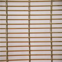 Cheap Stainless Steel 316 Architectural Wire Mesh Panels For Blind Metal Drapery Wall for sale