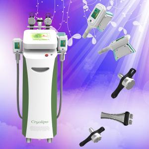 Cheap Cryolipolysis Slimming Machine / Advanded Fat Freeze Cryolipolysis Cavitation RF System for sale