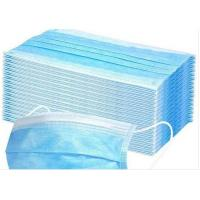 Cheap Anti Pollution Disposable Earloop Face Mask Non Irritating Moisture Proof for sale