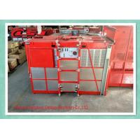 Cheap Temporary Building Site Construction Elevator , Platform Passenger Material Hoist wholesale