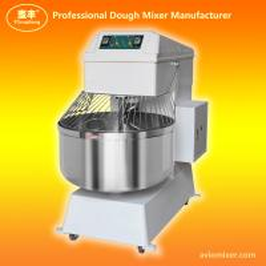 Cheap 2 Speed Double Motion Spiral Dough Mixer HS80 wholesale