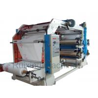 CE Certificated High Speed Non Woven Printing Machine in Red Blue Purple Yellow