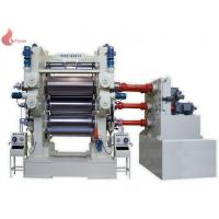 Ø 230mm - 910mm 4 Roll rubber calendering machine For Sheet And Fabric Making