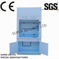 Quality Poly Ducted Laboratory Chemical Fume Hood / Cupboard with PP Cup Sink for wholesale