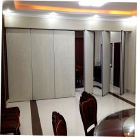 Cheap Interior Doors Curtain Wall System Soundproof Partition Wall For Banquet Hall for sale