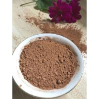 NF02 Dark Brown Natural Low Fat Cocoa Powder 4%-8% Fat Content , 5.0-5.8 PH Value