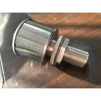 China Stainless Steel 53mm Diameter Single-End Wedge Wire Water Filter Nozzle on sale