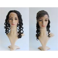 Cheap 7A Grade Loose Wave Glueless Full Lace Human Hair Wigs For Black Women wholesale