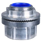 Cheap Zinc Die Cast Rigid Watertight Conduit Hub , IMC Conduit Fittings Polished for sale