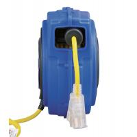 Cheap Yellow 125V 40' Commercial Lighted Goodyear Hose Reel With Circuit Breaker wholesale