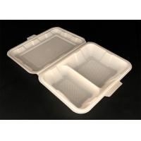 Cheap Clear disposable biodegradable pet fast food tray clamshell container white round bowl for sale