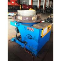 Cheap 2000 Kg Carring Rotary Welding Positioner 1100mm Table Slotted 300mm Gravity for sale