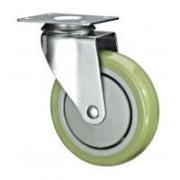 """Cheap 5"""" Polyurethane PU Caster Wheel Swivel For Case Carts And Utility Carts for sale"""