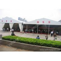 Cheap 15M Width 850gsm PVC Fabric Cover Ultraviolet proof Outdoor Event Canopy Tent wholesale
