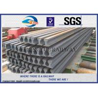 Cheap Light Steel Crane Rail / Overhead Crane Track , GB11264-89 Standard for sale