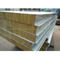 Cheap Anti Oxidation Metal Roof Panels Steel Structure Insulated Wall Panels for sale