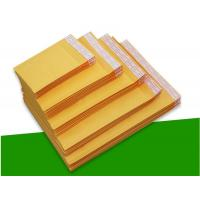Cheap Biodegradable Kraft Paper Self Seal Bubble Mailers Size 6 12.5 X 19 For Shipping for sale