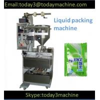 Cheap Automatic pouch liquid packing machine for small sachet for sale