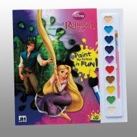 Cheap Disney Children Perfect Bound Book Printing With Paint / Brush for sale