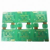 Cheap Double-sided Rigid-flex PCB Board with immersion gold surface treatment for sale