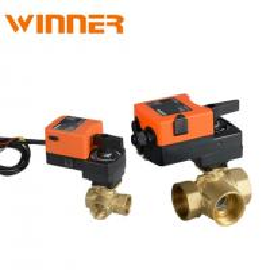 China Hisense supplier 3 proportional valve control ball valve for HVAC on sale