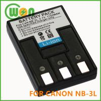 China NB-3L NB3L Battery for Canon PowerShot SD100 SD20 SD550 Camera on sale