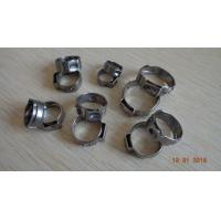 China Single ear stainless steel tube clamp,Customized stainless steel hose clamps, made in China professional manufacturer on sale