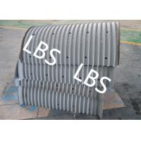 Offshore Platform Crane Main Drum Lebus Grooving Wire Rope Or Cable