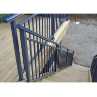 Cheap Manufacture Stair Handrail Product Aluminium Outdoor Balustrades / Handrails for sale