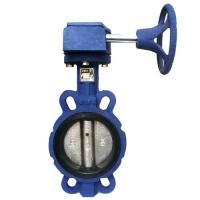 Cheap Worm Gear Operated Butterfly Valve-DN50-DN200-Ductile Iron for sale