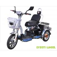 Cheap 48V 350W/500W Electric Mobility Scooter , 3 Wheel Electric Bike For Two Passengers for sale
