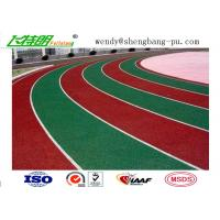 Cheap Weather Resistant Sandwich System Running Track Flooring for College School Rubber Surface for sale