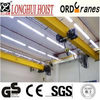 Cheap European electric single girder suspension crane for sale