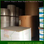 Cheap Virgin brown semi-extensible sack kraft paper for sale
