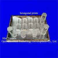 Cheap hexagon prism, hexagon rod prism, glass prism lens for sale for sale