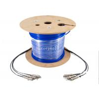 Buy cheap CPRI cable Waterproof Outdoor Fiber Cable assembly IP67 ODC 4Cores Plug connector from wholesalers