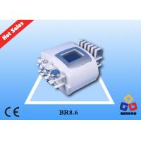 Cheap 5 in 1 Multifunctional Laser Fat Reducing Machine With 40KHZ Cavitation Handle wholesale