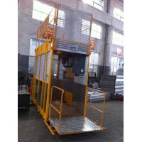Cheap Operator Cab Construction Material Man And Material Hoist Dual Cage ISO for sale