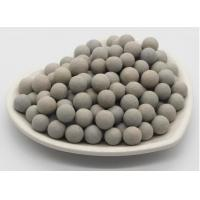 China Inert Support Aluminum Oxide Ceramic Balls For Natural Gas 1300-1400 Kg/M3 on sale
