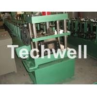 Cheap GCr15 Steel Roller, High Speed Shelf Roll Forming Machine For 1.8 - 2.3mm Material for sale