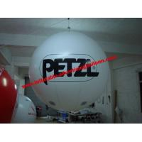 0.4mm Fireproof PVC Advertising Helium Balloons With Digital Printing For Trade Show