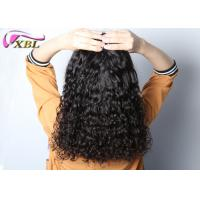 Cheap 100% Human Hair Without Synthetic Brazilian Italian Curl Hair 12 - 26 Inches #1b for sale