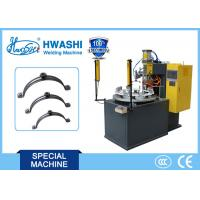 Cheap Pipe Clamp Nut Automatic Welding Machine With Rotary Table And Discharge Arm for sale