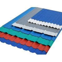 Cheap Heavy Duty Zinc Coated Standard Size Corrugated Steel Roof Sheets for sale