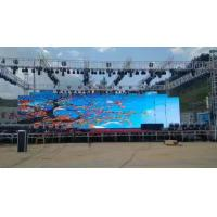 Cheap Rental Outdoor Led Screen Hire , 500 * 500 MM 5500 Nits Led Video Wall Display for sale