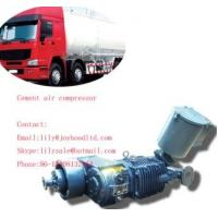 Cheap 8cbm factory directly supply 3 axles cement silo compressor for bulk cement truck wholesale
